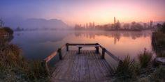 serenity lakeside by Girolamo Cracchiolo