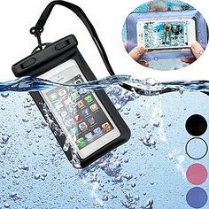 """bolsa submarina caso protector secan la bolsa impermeable para el iphone 6 caso 4.7 """"(color surtidos) – USD $ 5.99"""