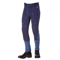 View our Harry Hall Mayhill Junior Jodhpurs Blue from our exclusive girls legwear range, created to ensure maximum comfort without sacrificing functionality! Jodhpur, Black Jeans, Pants, Blue, Collection, Fashion, Moda, Trousers, Black Denim Jeans