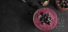 Embrace breakfast in a refreshing way by getting creative with this triple berry smoothie bowl that's 100% raw vegan. Ice Milk, Homemade Almond Milk, Raw Almonds, Raw Vegan Recipes, Mixed Berries, Breakfast Bowls, Smoothie Bowl, Food Processor Recipes, Berry