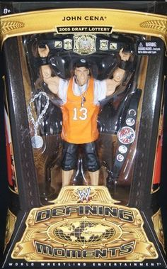 WWE Defining Moments John Cena - RAW Debut Collector Figure Series #5
