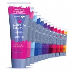 Colour that hair! (Fudge Paintbox Extreme Colours)