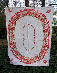 another vintage tablecloth