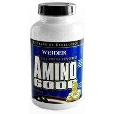 Weider, Amino 6000 100 Capsules | healthdesigns.com - Your Health Is Here