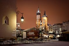 Краков зимой/Krakow in winter