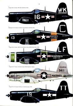 American WW2 F4U Corsair | ww2 | Pinterest | F4u Corsair, Travel ...