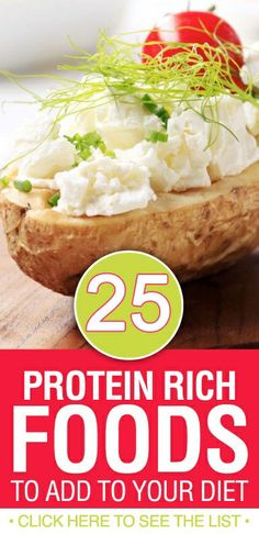 Top 25 Protein Rich Foods