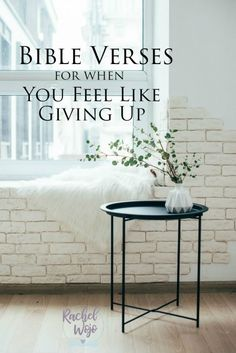 Have you felt like throwing in the towel lately? Get a boost of strength from these 12 Bible verses for when you feel like giving up! Bible Study Plans, Bible Study Journal, Be Strong And Courageous, You Are Strong, Psalm 71, Definition Of Success, Lord Is My Strength, Spiritual Encouragement, Feel Like Giving Up