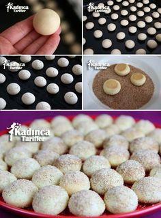 Tarçınlı Fındık Kurabiye Tarifi Brownie Cookies, Turkish Recipes, Homemade Beauty Products, I Foods, Yogurt, Deserts, Muffin, Food And Drink, Bread