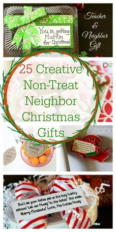 25 Creative Non-Treat Neighbor Christmas Gifts | Healthy Ideas for KidsFacebookPinterestEmailAddThis