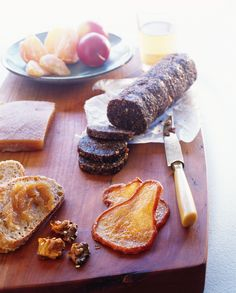 Cheese eaters don't have to have all the fun. Fig paste pairs nicely with even the finest wines.  http://foodpreservation.about.com/od/Preserves/r/Fig-Paste-Recipe.htm