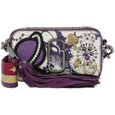 c69c879bdde8 Marc Jacobs Shoulder Bag - Vintage Collage Snapshot Crossbody Purple...  (8.043.610 IDR) ❤ liked on Polyvore featuring bags
