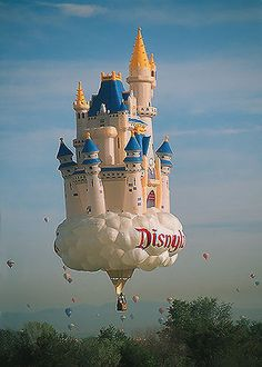 Castle In The Sky Hot Air Balloon! at the Greg Appreciation Day Parade