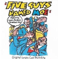 Five Guys Named Moe - Original London Cast Soundtrack Louis Jordan Music CD 1991 #ShowVocals