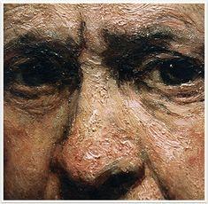 Rembrandt - Detail, Self Portrait