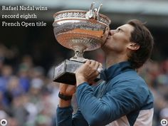 Rafael Nadal wins French Open - Created on Tactilize