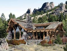 modelos de cabanas e casa de campo rusticas - Pesquisa Google #casasdecamporusticas #modelosdecasasrusticas #casasrusticasdecampo