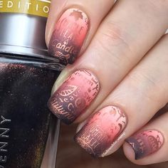 """1,053 Likes, 95 Comments - Debbie  U.K Nail Stamper  (@ladyandthe_stamp) on Instagram: """"Wow! I managed to use EVERYTHING in this months fantastic Pumpkin Spice @meeboxuk  I made a…"""""""