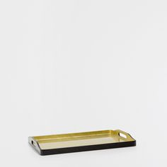 BLACK TRAY WITH A GOLDEN INTERIOR - Trays - Tableware | Zara Home United Kingdom