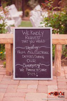 Mindful dating unplugged wedding