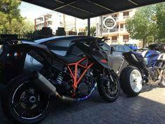 Ktm superduke 1290 & ducati diavel 1200 at golden auto moto care