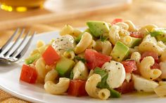 Pasta Salad with Avocado, Tomato & Mozzarella – my favorite pasta! Pasta Salad with Avocado, Tomato & Mozzarella – my favorite pasta! Mozzarella Pasta, Tomate Mozzarella, Mozzerella, Basil Pasta, Fresh Mozzarella, Tomato Basil, Barilla Recipes, Pasta Salad Recipes, Cooking Recipes