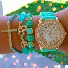 http://armcandy-fashion.blogspot.com/ #bracelets #watch