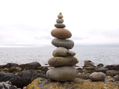Rocks on the island of Arran, Scotland