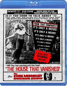 THE HOUSE THAT VANISHED / THE EERIE MIDNIGHT HORROR SHOW BLU-RAY (CODE RED)