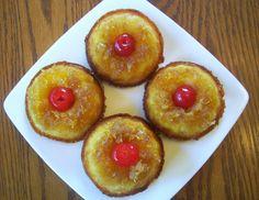 Pineapple Upside Down Mini Bundt Cakes | Flavors by Four | Bloglovin'