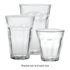 Win a set of Duralex Drinking glasses valued at $50.