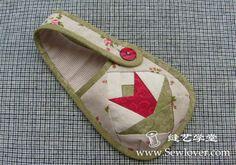 Patchwork small bag phone bag making tutorial - Sewlover seam Arts School | DIY handmade cloth Tutorials | Patchwork embroidery | handmade b ...