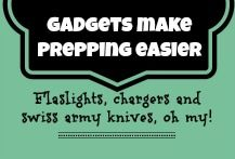 What would prepping be without a good flashlight, a Swiss army knife and a solar charger?