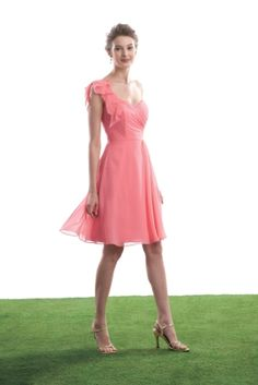 BM116- colour in store is razzle dazzle (bright pink) style in store is floor length- Size 12- perfect condition Was £280- now £150