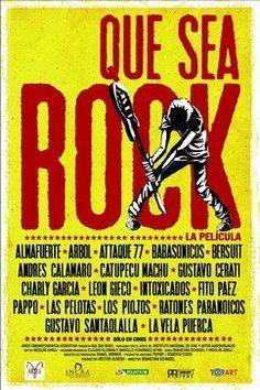 DVD documentário - rock argentino
