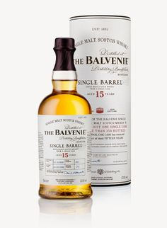 BALVENIE Single Barrel - 15 Year Old Single Malt Scotch Whisky