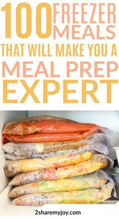 Meal planning 280349145541189652 - You really need to try these freezer meals! They are healthy, delicous and save so much time. These 7 meal plans include 100 freezer meal recipes that will make your meal prep a breeze! Budget Freezer Meals, Make Ahead Freezer Meals, Freezer Cooking, Frugal Meals, Budget Recipes, Freezer Recipes, Groceries Budget, Healthy Crockpot Freezer Meals, Meal Planning Recipes