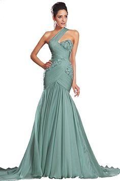 EDressit nova uma cinta verde formal baile vestido de festa vestido de noite (00132904)