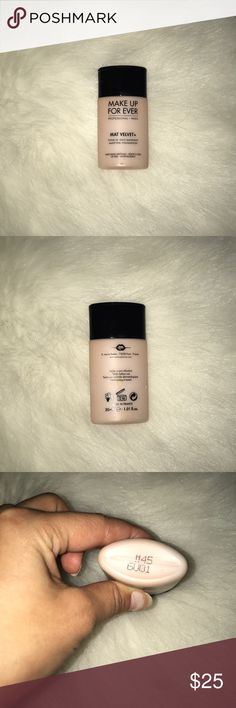 Makeup forever Mat Velvet Foundation Makeup forever in Mat Velvet shade #45 Makeup Forever Makeup Foundation