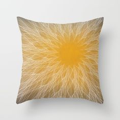 Buy Sun Rays Throw Pillow by ≡ Thirtien ≡. Worldwide shipping available at Society6.com. Just one of millions of high quality products available.