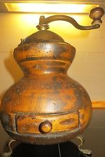 handbetriebene Holz Kaffeemühle