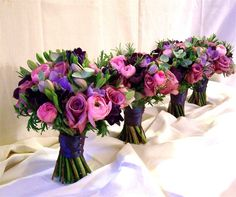 Bridesmaid Bouquets from The Broadway Florist