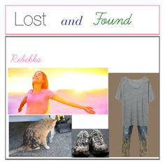 """""""Lost and Found"""" by breathtaking-tips ❤ liked on Polyvore featuring Dsquared2"""