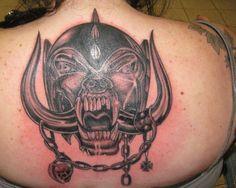Motorhead back tattoo Eddie Clarke, Lemmy Kilmister, Rock Tattoo, Compass Tattoo, Tatting, The Incredibles, Ink, Google Search, Percussion