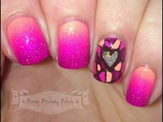 Penny Pinching Polish: 52Week Pick 'n' Mix Challenge - Pink & Orange, and Mosaic/Stained Glass (with video tutorial)