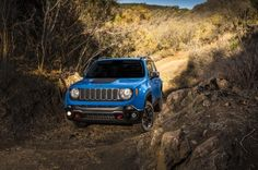 2015 Jeep Renegade Trailhawk in Sierra Blue