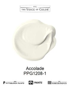 Accolade is a part of the Off-Whites collection by PPG Voice of Color®. Browse this paint color and more collections for more paint color inspiration. Get this paint color tinted in PPG PITTSBURGH PAINTS®, PPG PORTER PAINTS® & or PPG PAINTS™ products.