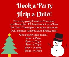 Message me today to book your Facebook party!!