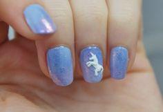 Unicorn nail art Find the DIY on my blog  Nailarttack.blogspot.fr