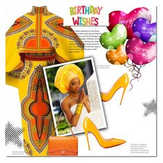 """""""Happy Birthday Sista-Friend"""" by marion-fashionista-diva-miller ❤ liked on Polyvore featuring Christian Louboutin"""